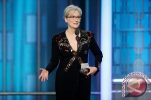 "Trump sebut Meryl Streep ""Hillary Lover"""