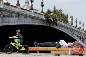 Paris tingkatkan infrastruktur untuk bersepeda