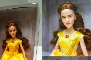 Mirip Justin Bieber, boneka Emma Watson bikin geger Internet