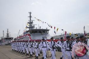 Tiga kapal baru patroli TNI-AL