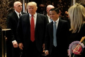 Trump dan CEO Alibaba gelar pertemuan di New York