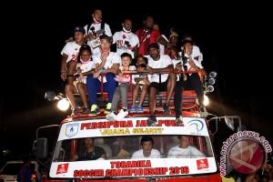 Penyambutan Juara TSC Persipura Jayapura