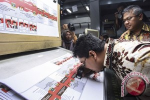 Kertas Suara Pilkada Banten