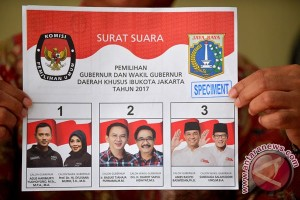 KPU DKI cetak 7,2 juta surat suara