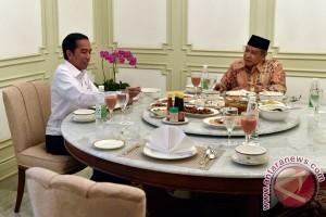Presiden Makan Siang Bersama Said Aqil Siradj