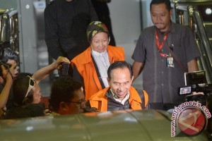Pemeriksaan Kasus Suap Wali Kota Cimahi