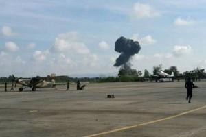 Pesawat tempur JAS39 Gripen C/D Thailand jatuh