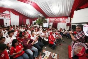 Sekjen PDIP semangati kader TMP terus perjuangkan Pancasila