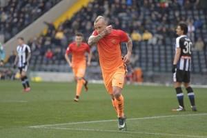 Gol tunggal Nainggolan menangkan Roma 1-0 atas Udinese