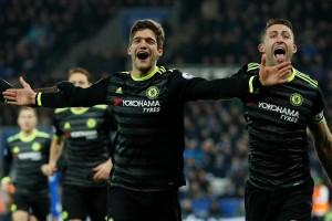 Chelsea pecundangi Leicester 3-0, makin nyaman di puncak