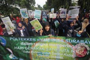 Aksi Gerakan Satu Juta Pohon