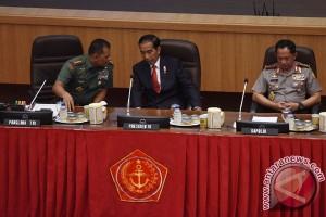 Presiden Hadiri Rapim TNI 2017