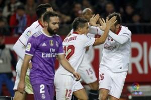 Susunan pemain Sevilla vs Leicester, Jovetic pimpin tuan rumah