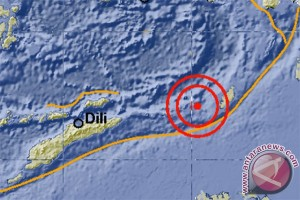 Gempa 5,6 skala Richter di Maluku Tenggara Barat