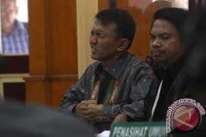 Sidang Suap Mantan Gubernur Sumut
