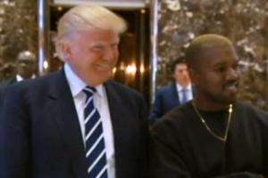 Kanye West hapus tweet pertemuannya dengan Trump