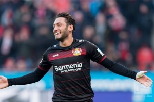 Hakan Calhanoglu bawa Leverkusen tundukkan Berlin 3-1