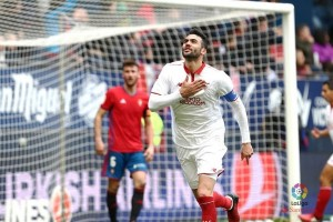 Dua kali tertinggal, Sevilla bekuk Osasuna 4-3