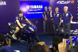 Yamaha perkenalkan All New R15 bersama Maverick Vinales