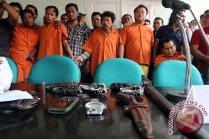Dalang penembakan pengusaha dibawa ke Medan