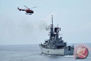 Latihan Pengiriman Barang Helikopter