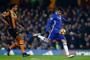 Chelsea menang mudah 2-0 atas Hull