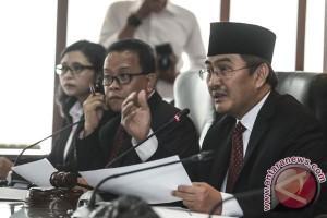 Sidang Putusan Terkait Pelaksanan Pilkada Serentak 2017