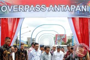 """Wapres resmikan jembatan layang """"pelangi"""" Antapani"""
