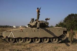 Israel serang Gaza pascapenembakan rudal di perbatasan