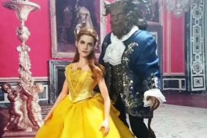 Seniman ini sulap boneka Belle Emma Watson jadi menawan