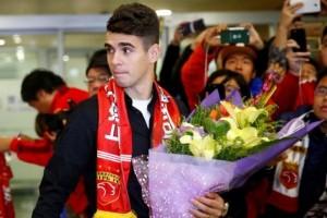 Oscar dihukum delapan laga karena picu keributan di Liga China