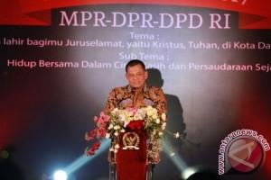 Panglima TNI hadiri Perayaan Natal di Kompleks Parlemen