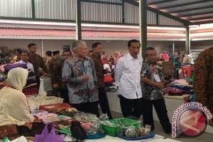 Presiden Jokowi tak ingin pasar kalah dengan mall