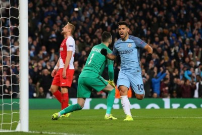 Dwigol Aguero bawa City bangkit benamkan Monaco 5-3