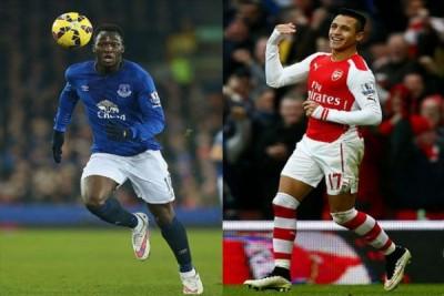 Sanchez & Lukaku pencetak gol terbanyak Liga Inggris
