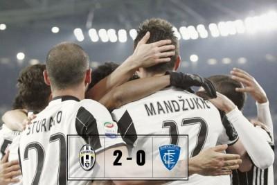 Tekuk Empoli, Juventus di puncak klasemen Liga Italia