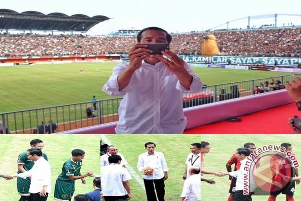 Presiden Jokowi populerkan bakso lewat