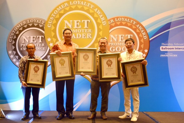 Toyota raih lima penghargaan Net Promoter Customer Loyalty