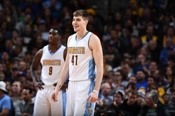 Ringkasan pertandingan NBA, Nuggets samai rekor tembakan tiga angka