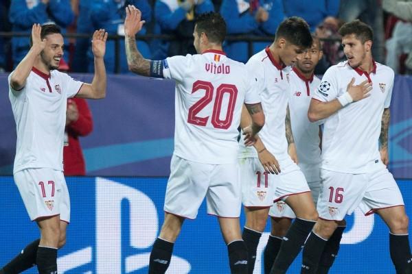 Pablo Sarabia Bawa Sevilla Sementara Ungguli Leicester 1 0