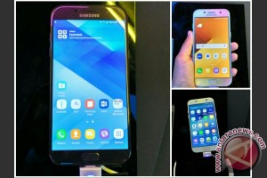 Samsung Galaxy A (2017) tahan air dan debu