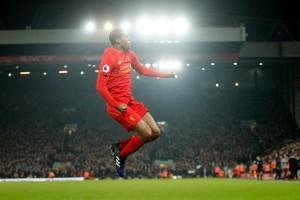 Wijnaldum cetak gol, babak pertama Liverpool vs Burnley 1-1