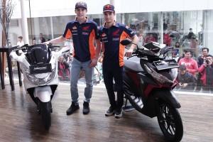 Marquez dan Pedrosa senang kembali berkunjung ke Jakarta