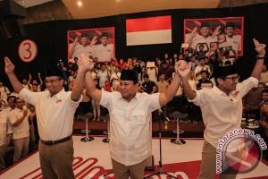 Prabowo sampaikan niat jadi capres sebagai bentuk dukungan untuk Anies - Sandi