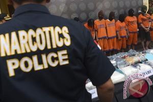 Gelar Kasus Narkoba Jatim