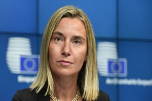 EU does not believe in walls, bans over immigration issue: Mogherini