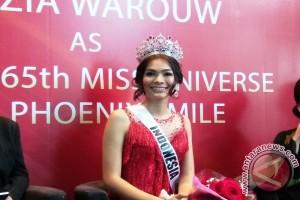 Curhatan Kezia Warouw soal gaun tersangkut di Miss Universe