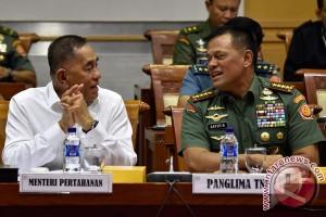 Raker Pembahasan Program Kerja Kemenhan dan TNI