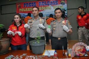 Gelar Perkara Narkoba Kota Bogor