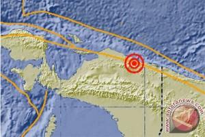 Gempa 5,1 skala Richter di daratan Sarmi, Papua